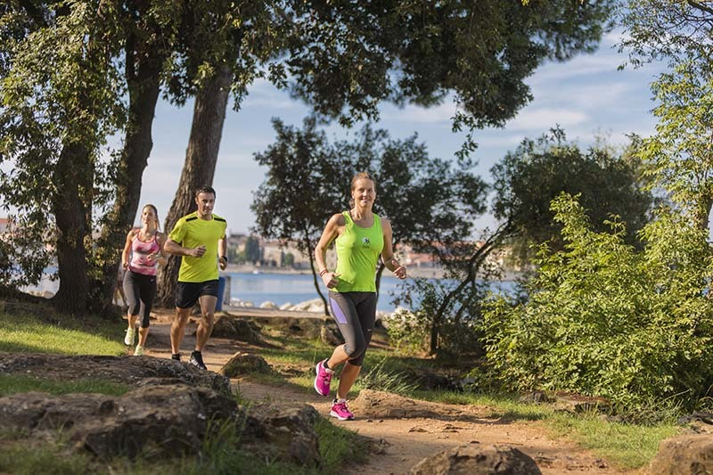 where to run in porec